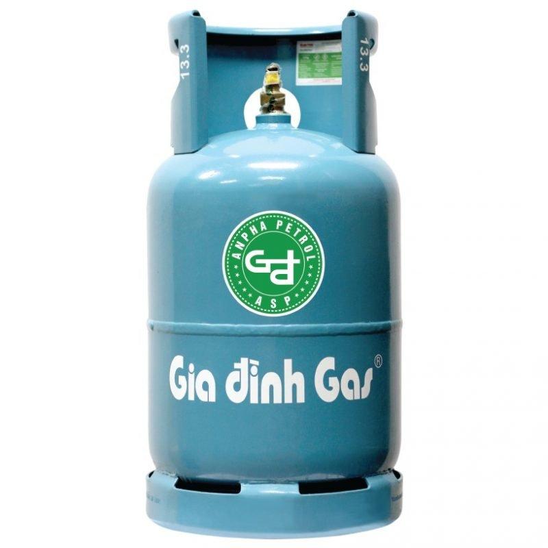 Bình gas Gia Đình xanh Petrolimex 12kg chính hãng