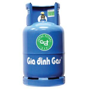 Bình gas Gia Đình xanh Shell 12kg