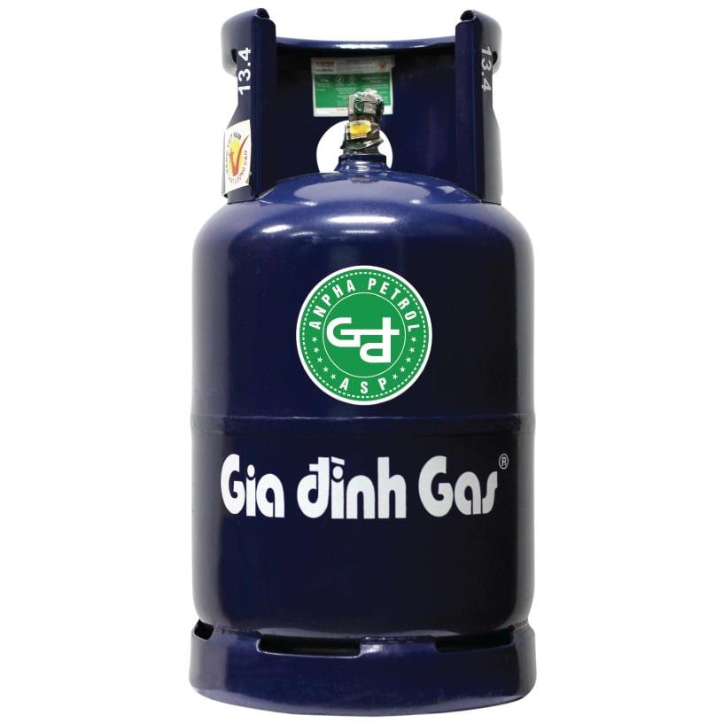Bình gas Gia đình màu Xanh VT 12kg chính hãng an toàn