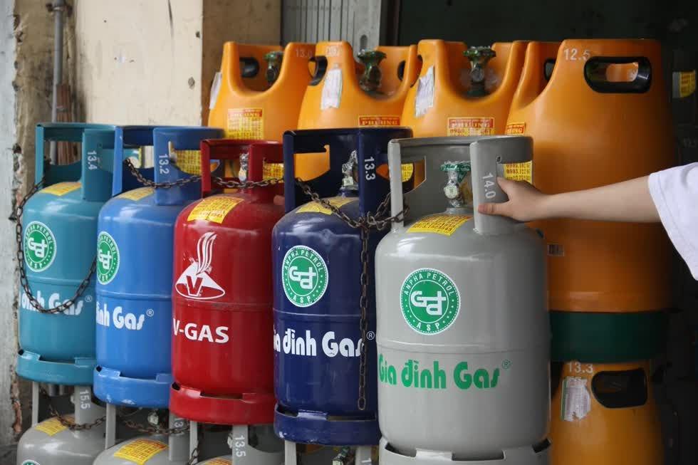 giá gas Bình minh