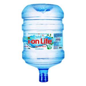 Nước ion kiềm ion Life 19L bình úp