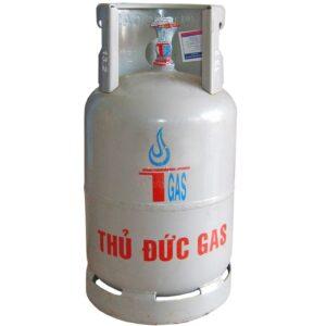 Bình gas xám 12kg Thủ Đức Gas