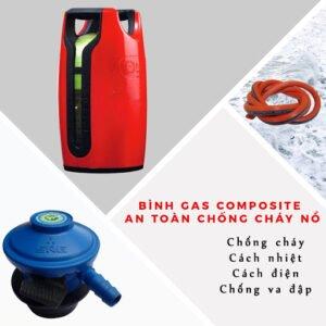 Bộ bình gas MISS chống cháy nổ