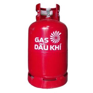 gas dầu khí vỏ đỏ