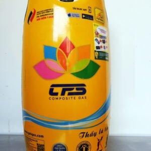 Bình gas MISS composite màu vàng